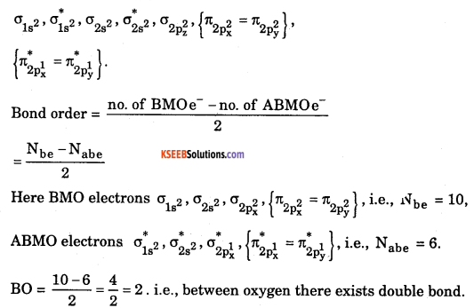 1st PUC Chemistry Model Question Paper 1 with Answers 4