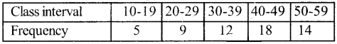 1st PUC Economics Question Bank Chapter 3 Organisation of Data image - 14