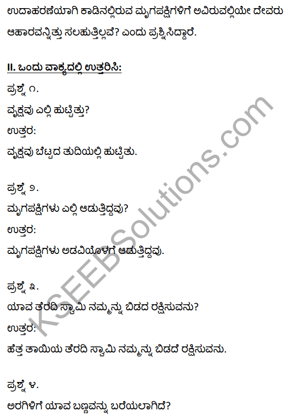 1st PUC Kannada Textbook Answers Sahitya Sanchalana Chapter 5 Tallanisadiru Kandya Talu Manave 4