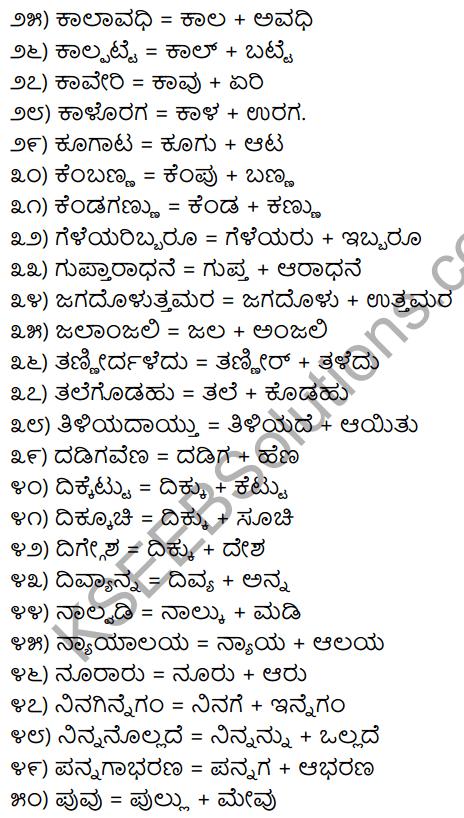 1st PUC Kannada Workbook Answers Bidisi Bareyiri 2