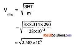 1st PUC Physics Question Bank Chapter 13 Kinetic Theory img 2