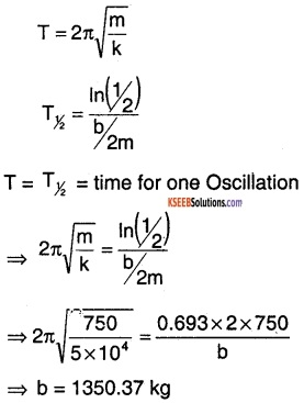 1st PUC Physics Question Bank Chapter 14 Oscillations img 30