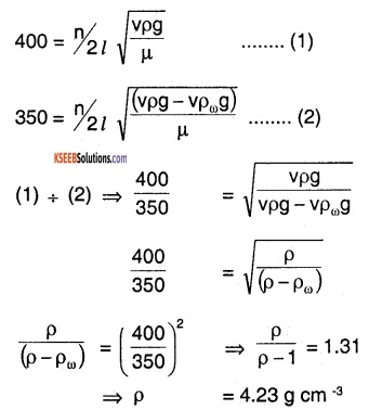 1st PUC Physics Question Bank Chapter 15 Waves img 81