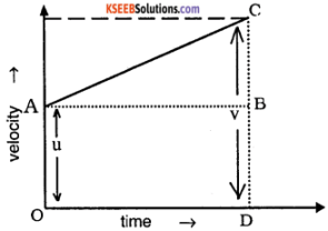 1st PUC Physics Question Bank Chapter 3 Motion in a Straight Line img 40