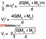 1st PUC Physics Question Bank Chapter 8 Gravitation img 56