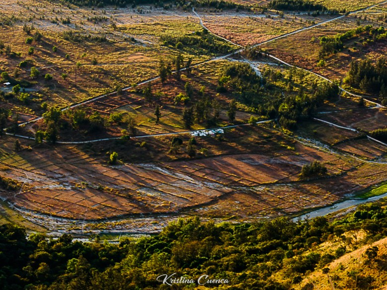The captivating touch of light and display of shadows in the fields of San Marcelino at sunrise was really dramatic.