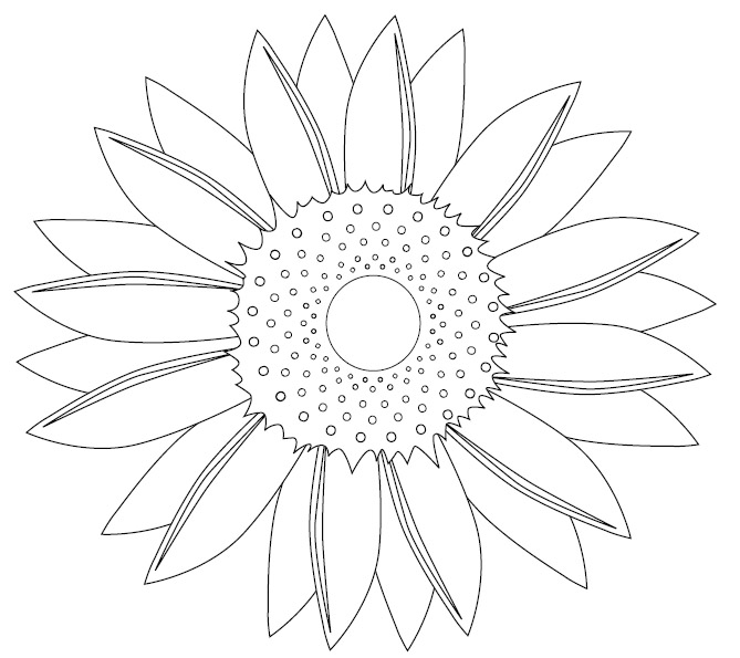 watering can and sunflowers coloring page picture super coloring