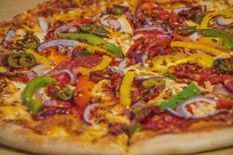 Kraken pizza – Hot Stuff pica