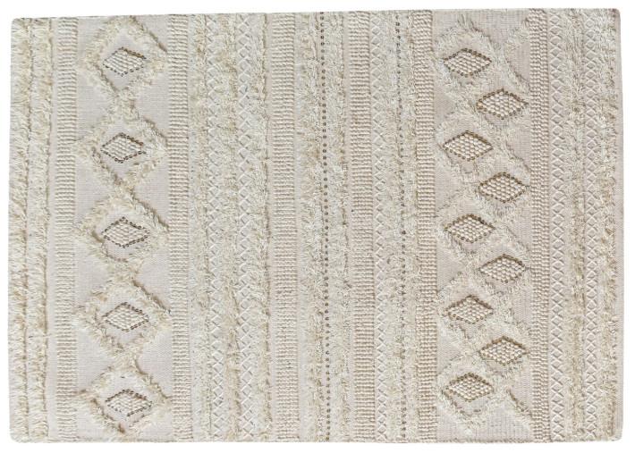 tapis en laine ivoire esprit berbere 120x180 ou 160x230 hawley par the rug republic