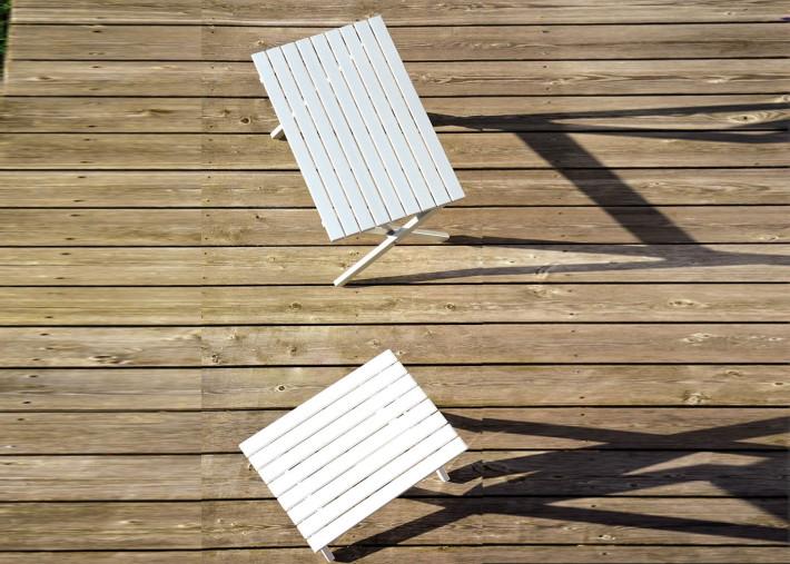 table basse en aluminium anodise ou laque noir ou blanc 2 tailles rimini tavolo jankurtz