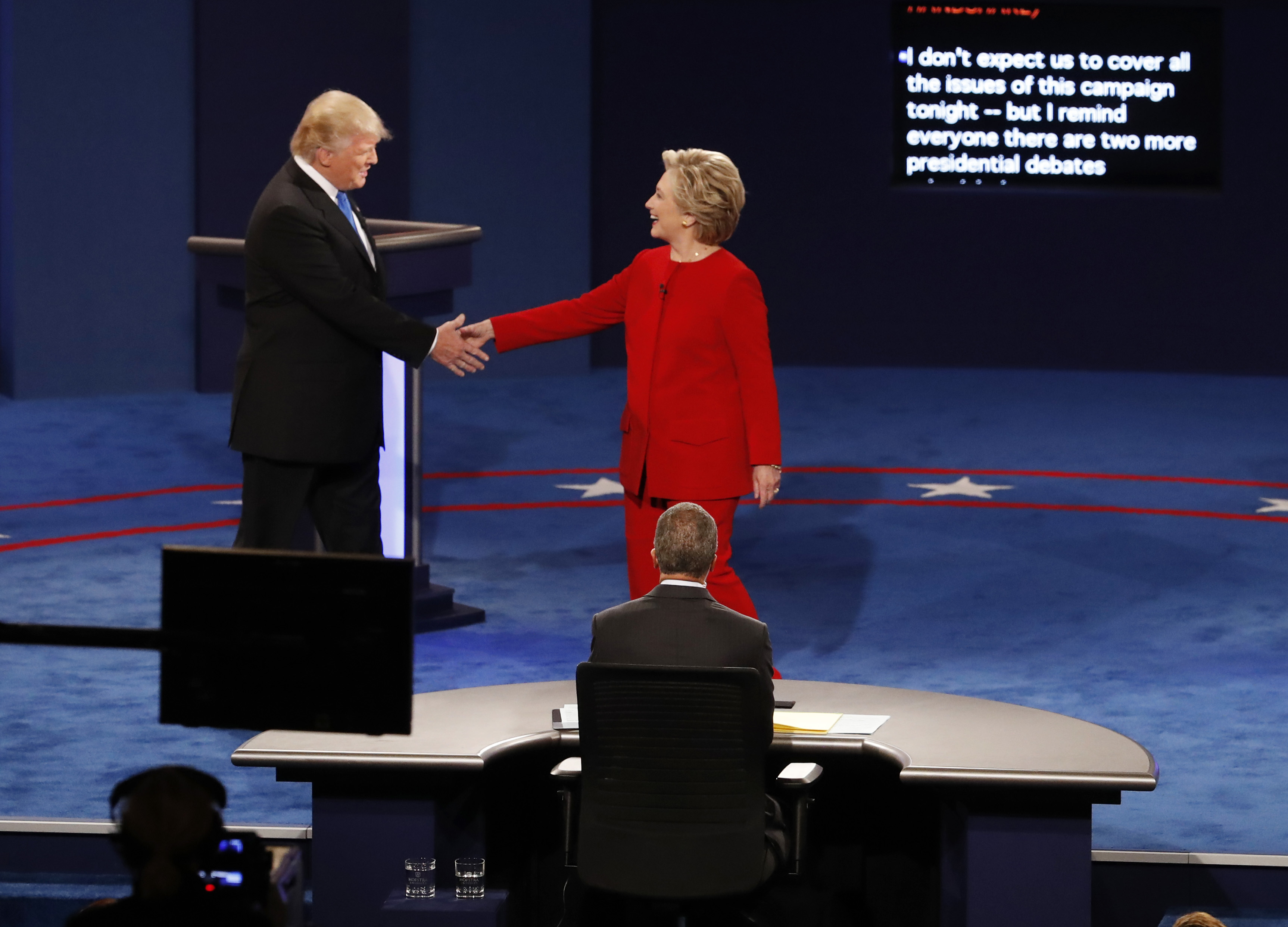 Top Moments From The First Presidential Debate