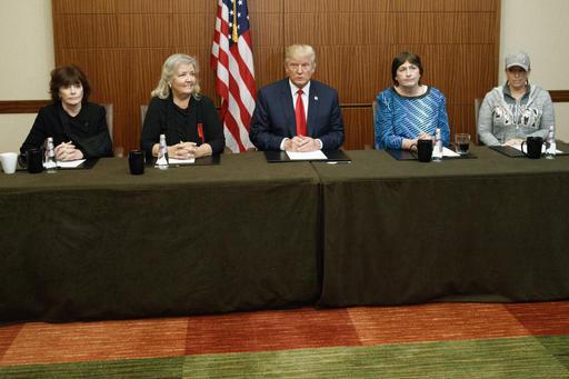 Donald Trump, Paula Jones, Kathy Shelton, Juanita Broaddrick, Kathleen Willey_312737