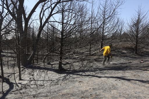 US Wildfires Kansas_356012