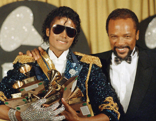 Michael Jackson and Quincy Jones_422180
