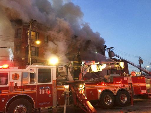 Bronx Building Fire_497998