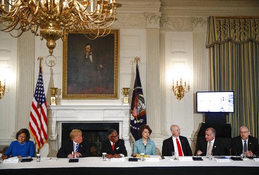 Donald Trump, Susana Martinez, George Flaggs, Jr., Elaine Chao, Pete Ricketts, Esteban Bovo, Jeff Longwell_519465