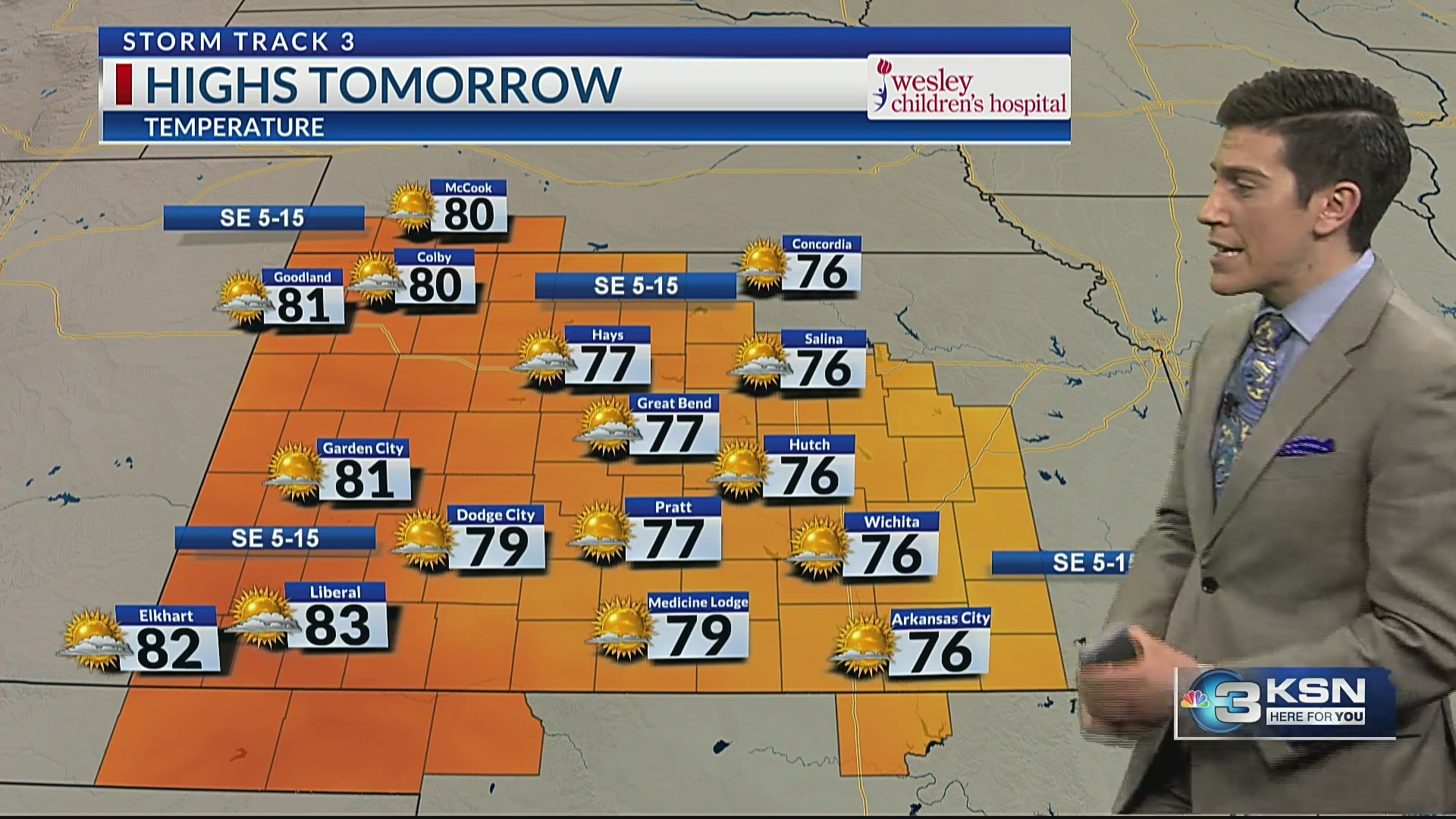 T.J.'s Forecast: News 3 at 10 Storm Track 3 Weather