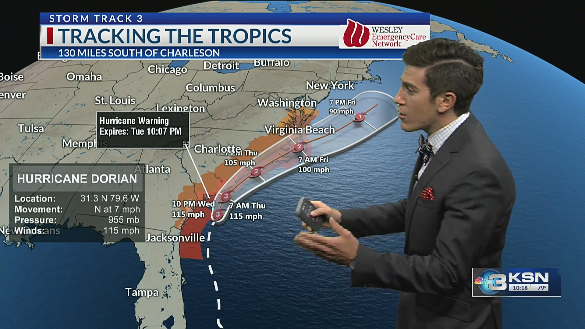 Taylor's Forecast: Warm day, severe weather tonight