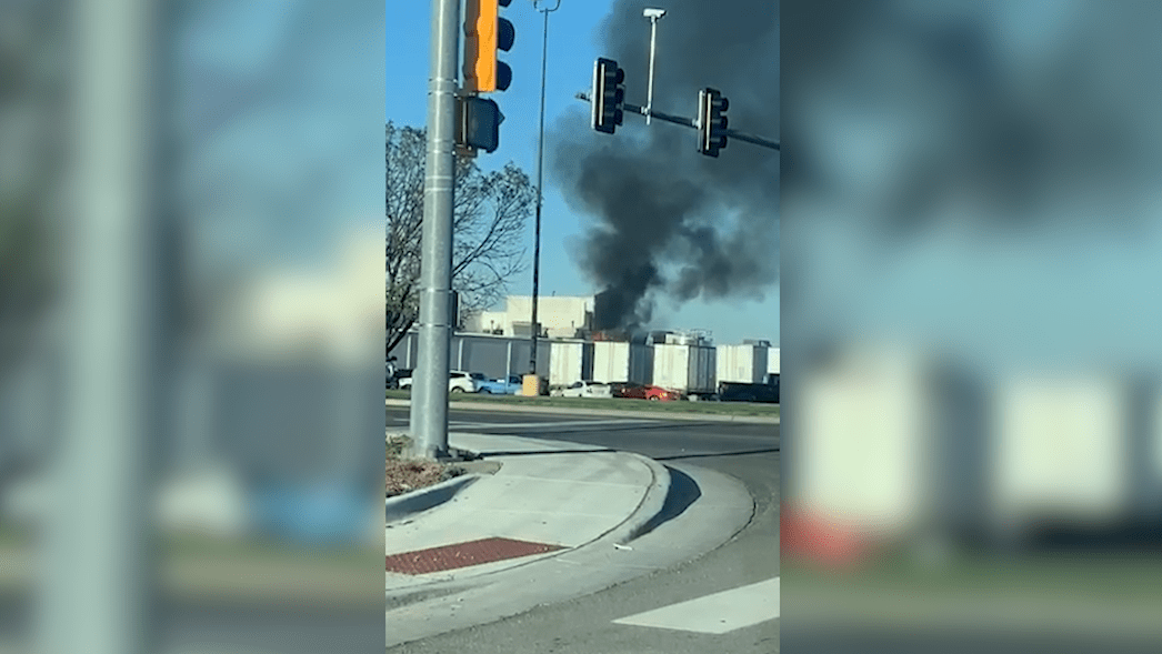 Fire breaks out at Emporia Hostess factory