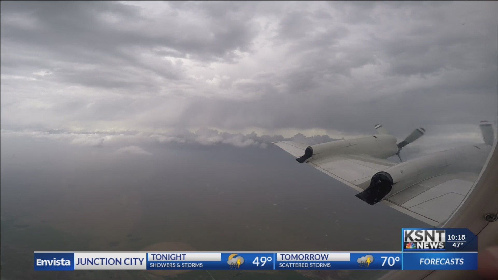 Chief Meteorologist Matt Miller takes you into the storm with the Hurricane Hunters