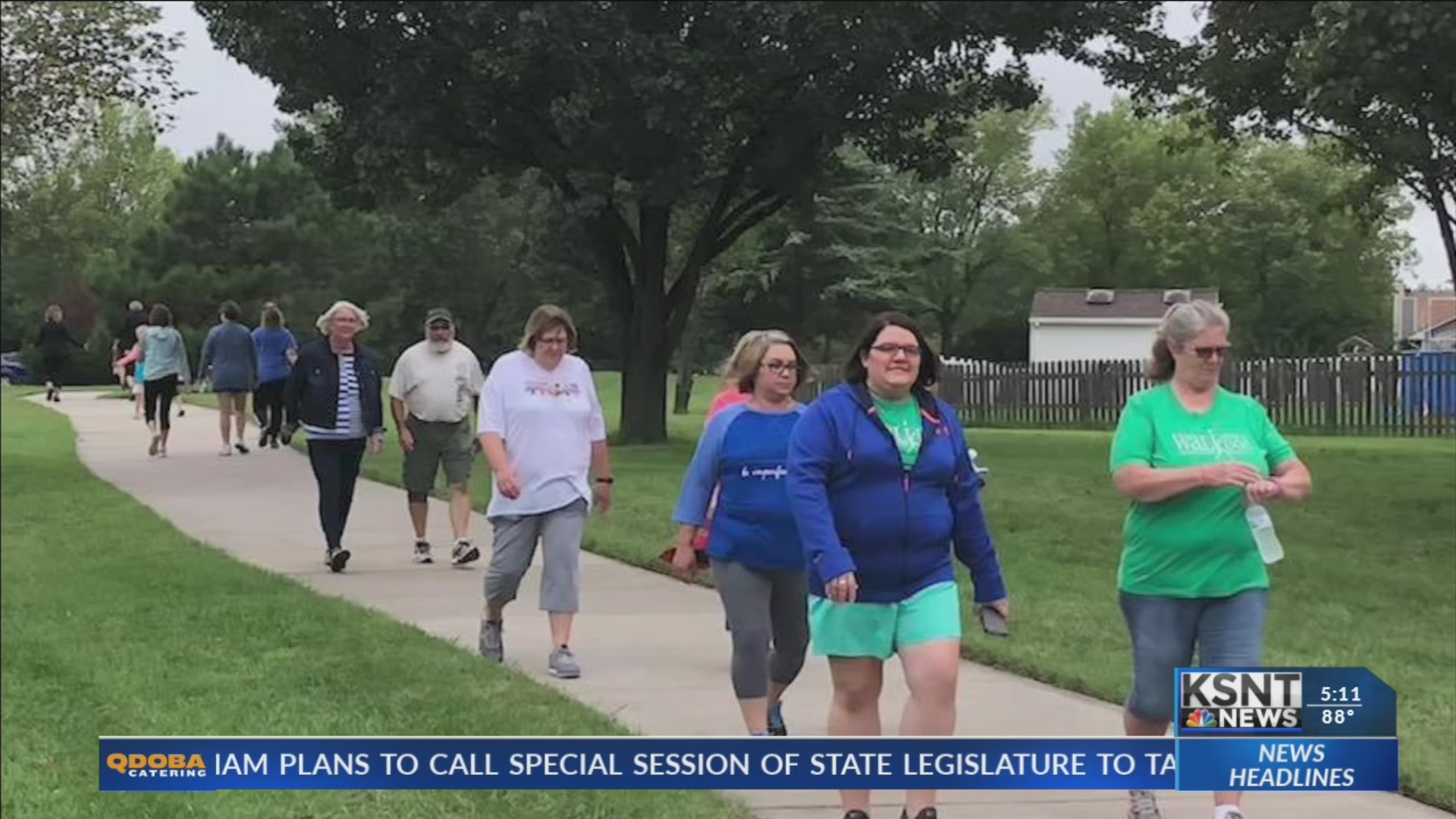 Emporia health experts urge people to start walking
