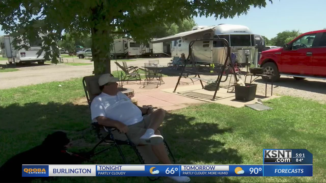 Kansans flock to campgrounds for summer vacation