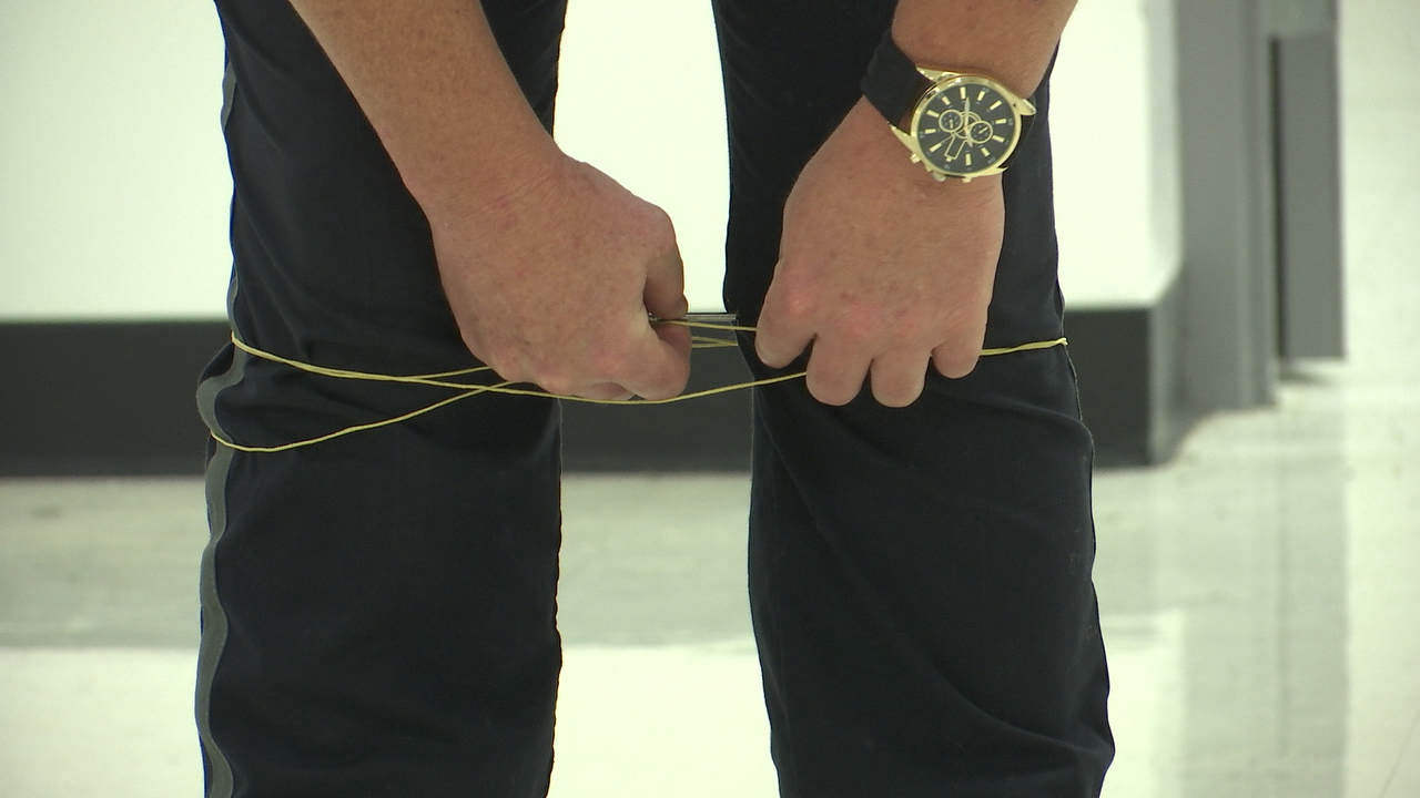 Local law enforcement learn about superhero-like restraining device