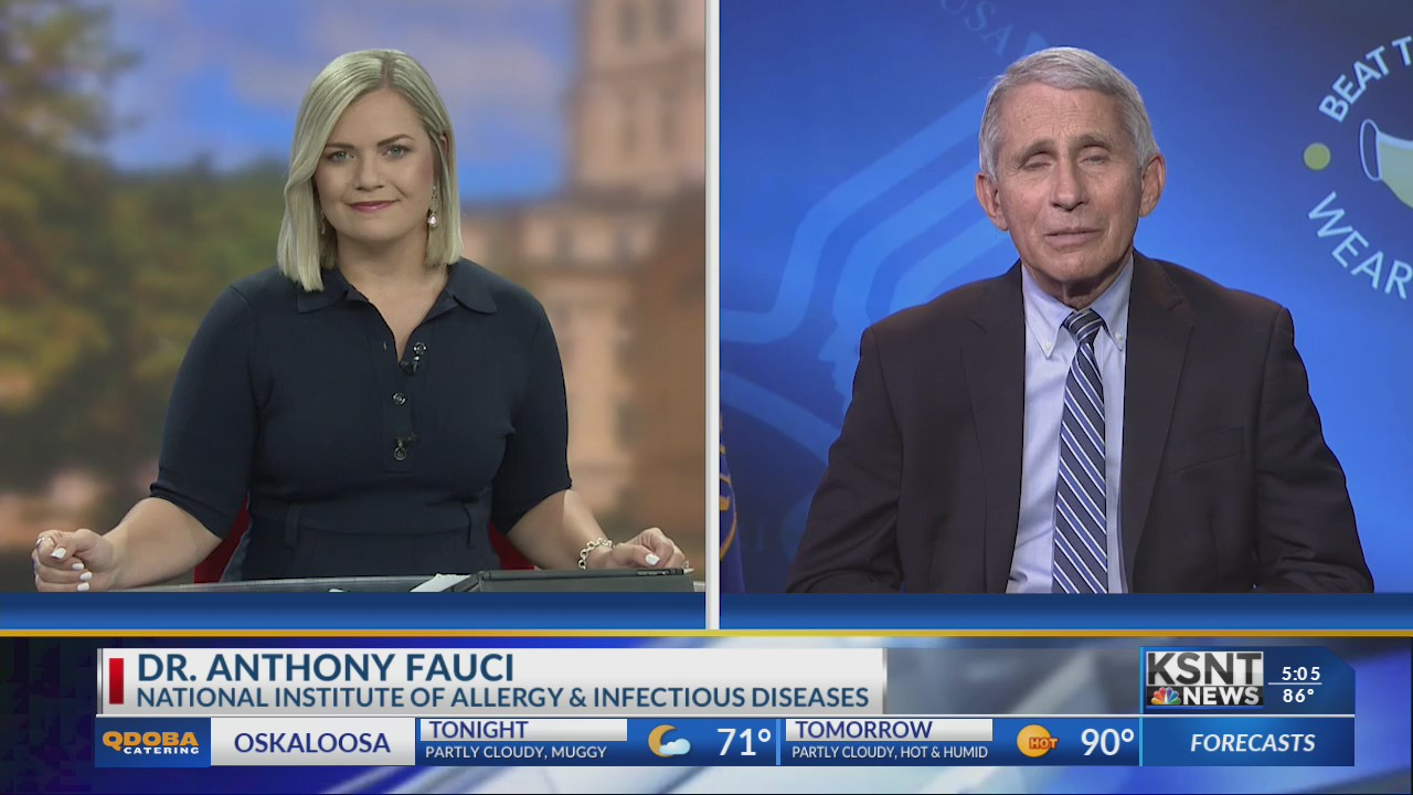 Watch here: KSNT talks to Dr. Anthony Fauci in a one-on-one interview