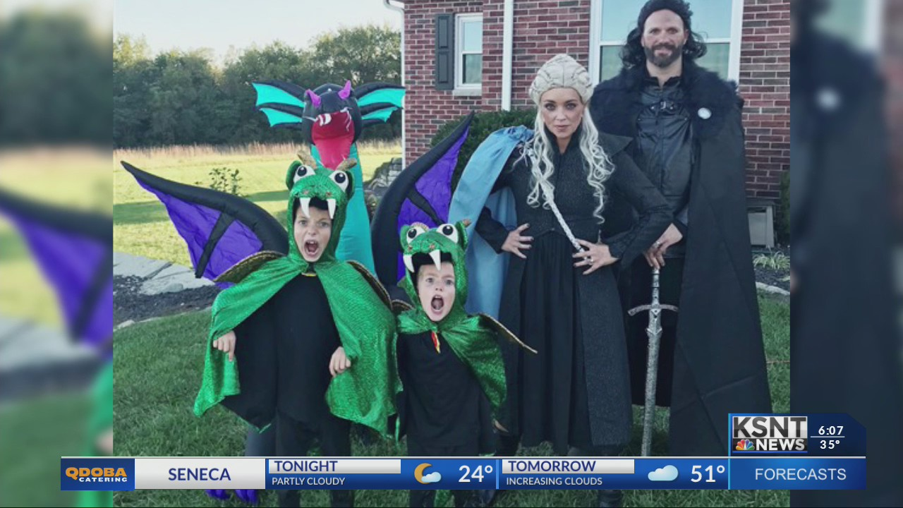 Berryton family makes it to final four of Today Show costume contest