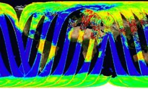 Eerste data van SMOS satelliet