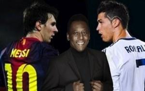 Ronaldo great goalscorer but Messi best ever: Pele