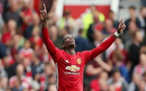 Pogba stars as Man United thrash Leicester without Rooney
