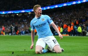 Kevin de Bruyne second only to Messi: Man City boss