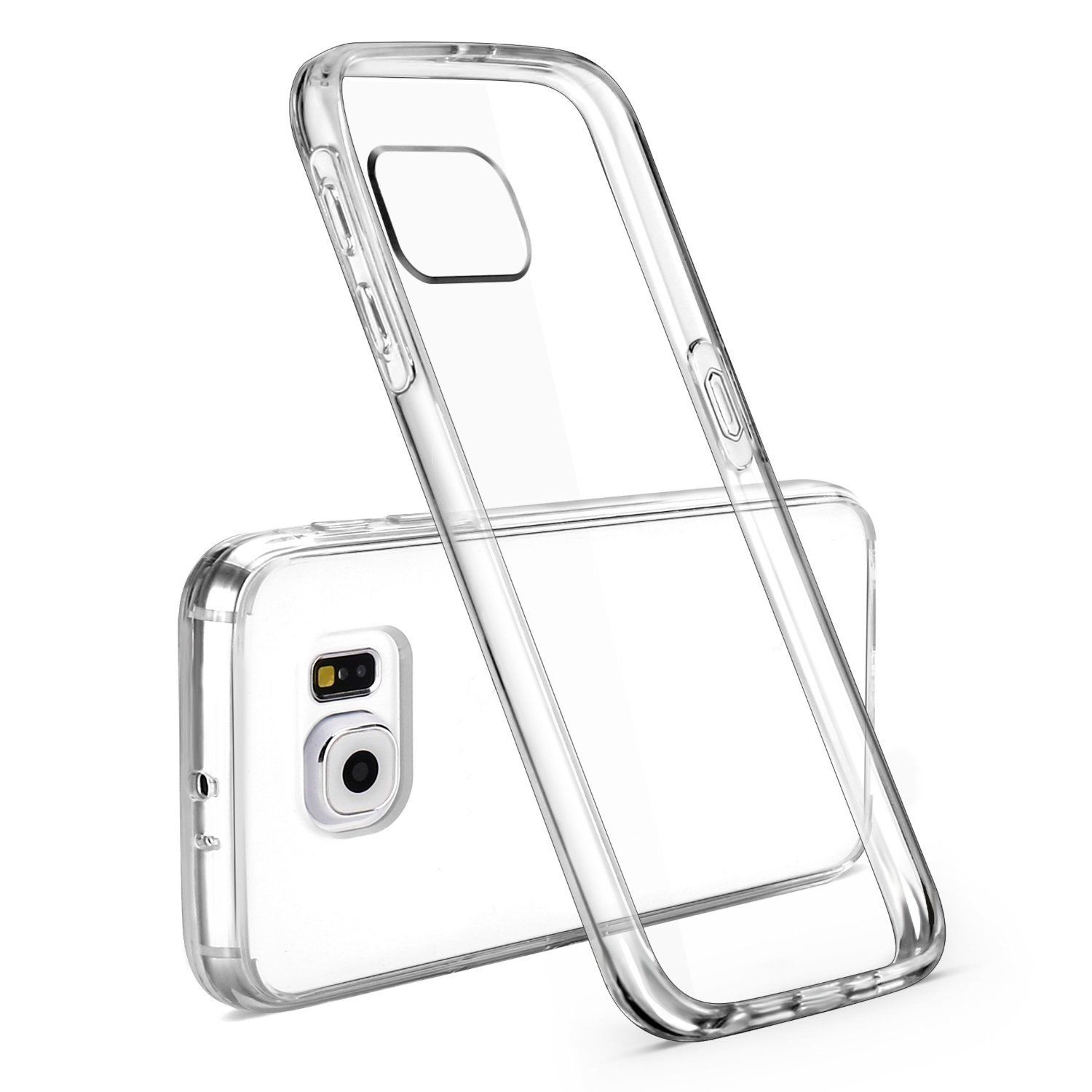 Ultra Thin Slim Crystal Clear Soft Tpu Back Cover