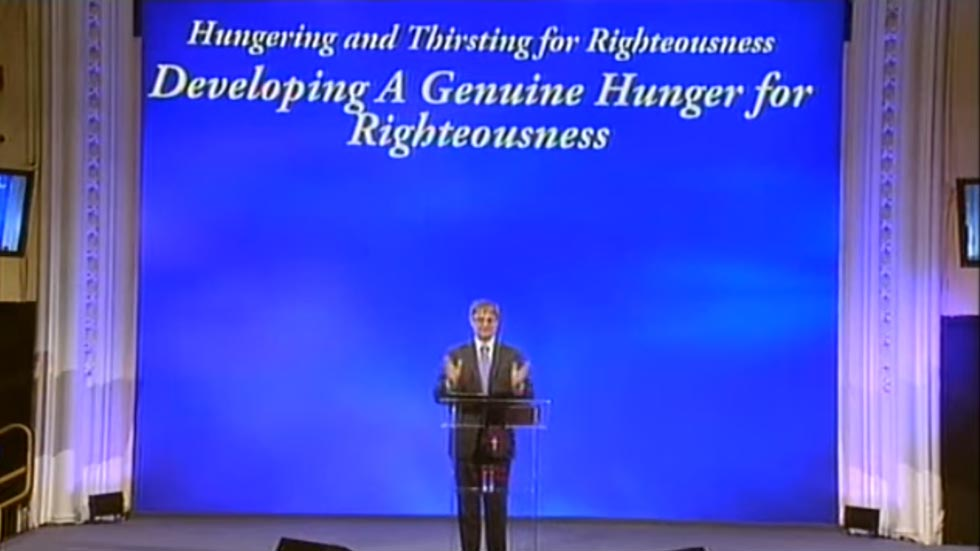 Developing a Genuine Hunger for God
