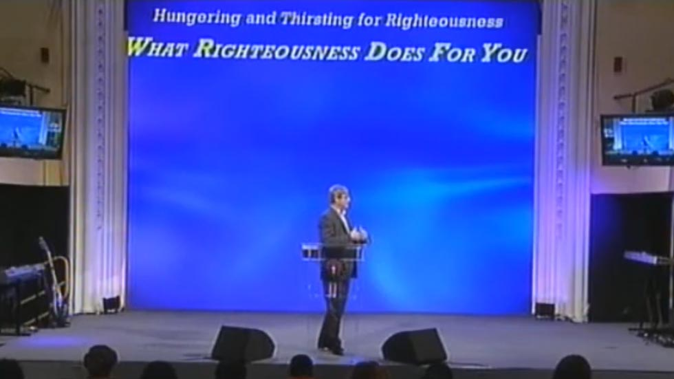 What Righteousness does for you