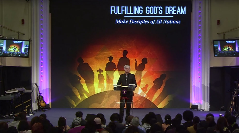 Fulfilling God's Dream – Making Disciples of all Nations