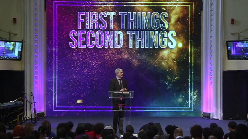 First Things, Second Things