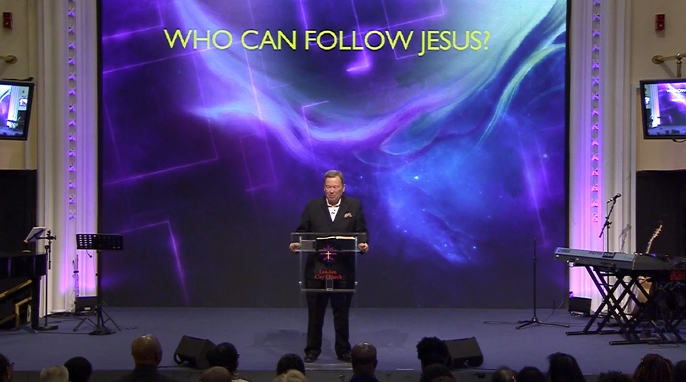 Who can follow Jesus?