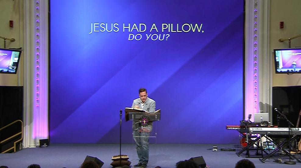 Jesus has a Pillow, do you?