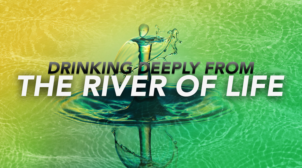 Drinking Deeply from the River of Life