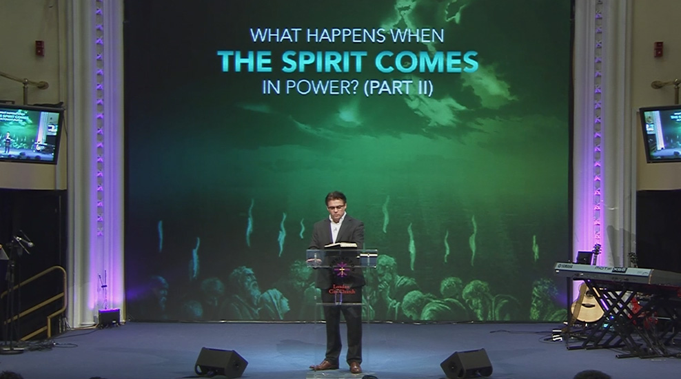 What happens when the Spirit comes in power (part 2)