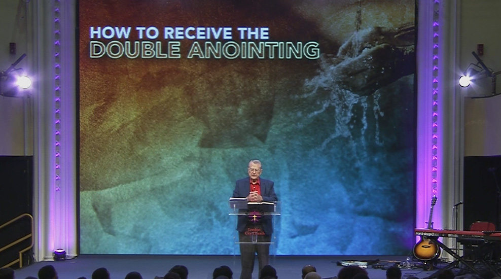 How to receive the Double Anointing