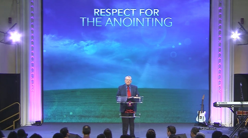 Respect the Anointing