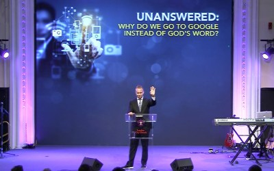 Unanswered: Why do we go to Google instead of God's Word