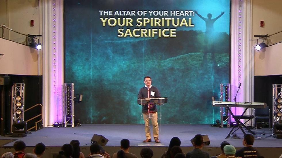 Your Spiritual Sacrifice