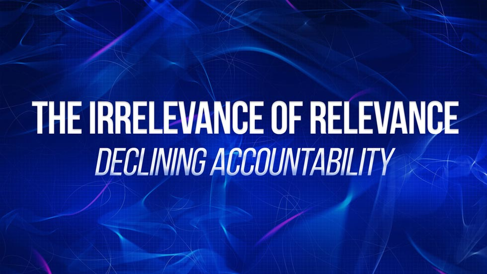 Declining Accountability