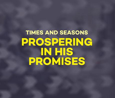 Prospering in His Promises