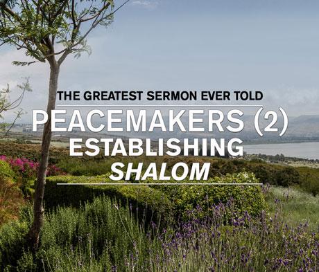 Peacemakers (2) Establishing Shalom