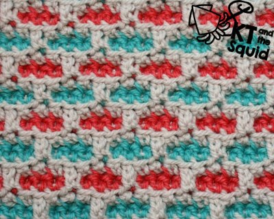 Trail Crochet Stitch Tutorial KT and the Squid